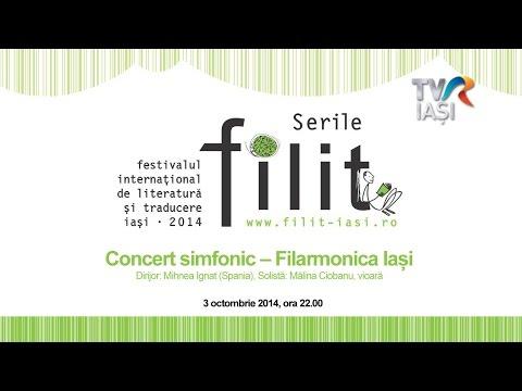 Concert simfonic – Filarmonica Iași