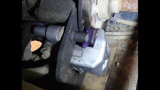 8. 2006 Yamaha Rhino 660 rear brake pad replacement