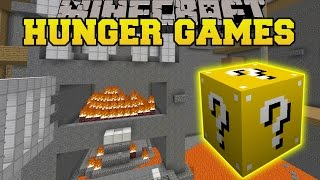 Minecraft: TOY STORY BASEMENT HUNGER GAMES - Lucky Block Mod - Modded Mini-Game