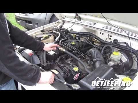 How To: Replace Ignition coil pack on 1997-2001 Jeep Cherokee XJ – GetJeeping