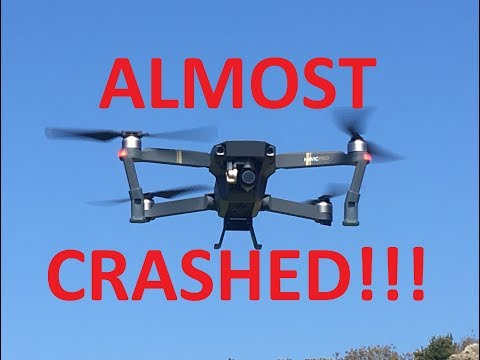 DJI Mavic Pro [DRONE] almost CRASHED