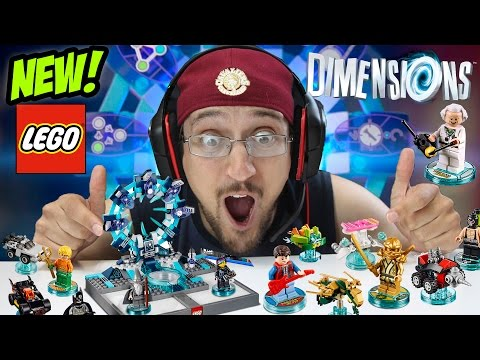 LEGO DIMENSIONS! Everything You Need To Know! Waves, Starter Packs, Fun, Team, Level Packs & More!