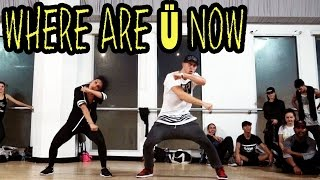 WHERE ARE Ü NOW - Skrillex & Diplo ft @JustinBieber Dance | @MattSteffanina #WhereAreUNow