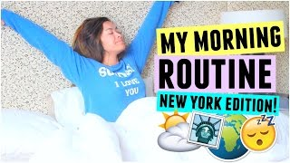 MY MORNING ROUTINE! New York City Edition! by ThatsHeart