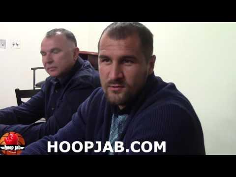 Sergey Kovalev on sparring with Gennady Golovkin & Andre Ward vs Gennady Golovkin. HoopJab