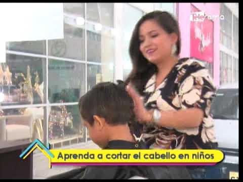 Aprenda a cortar el cabello en niños