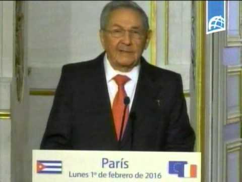 Declaraciones a la prensa del Presidente Raúl Castro
