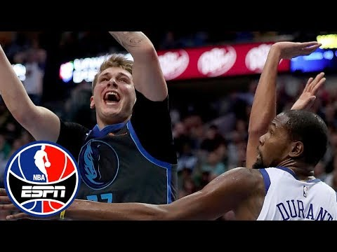 Luka Doncic outshines Kevin Durant and Warriors in Mavericks' win | NBA Highlights