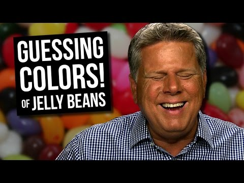 Blind Man Tries to Guess the Colors of Flavored Jelly