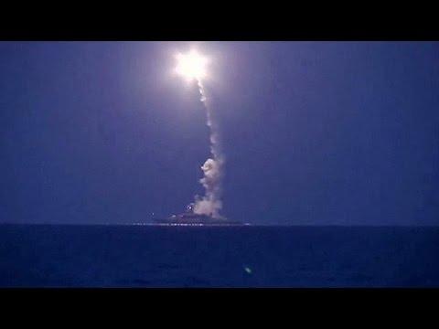 Συρία: Ρωσικές επιθέσεις με ρουκέτες από την Κασπία