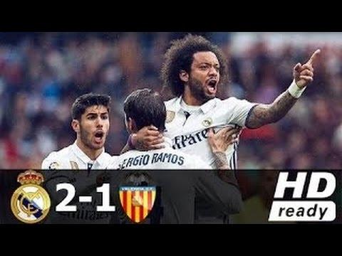 Real Madrid vs Valencia 2 1 All Goals & Extended Highlights La Liga 29 04 2017 HD