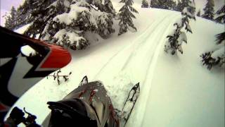 3. 2010 Polaris Turbo Dragon 800 Riding GoPro 1080p HD