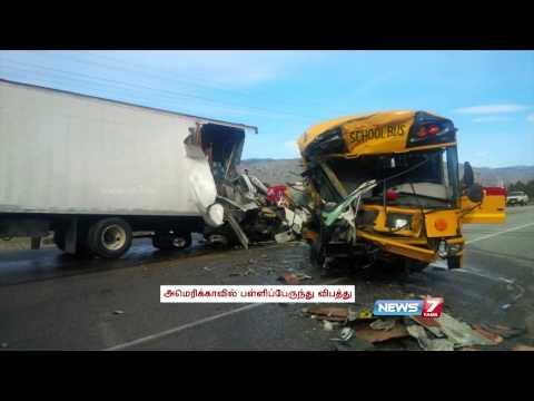 43 children injured in Washington school bus crash