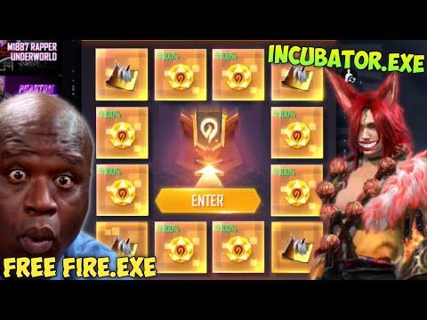 FREE FIRE.EXE - SPIN NEW INCUBATOR.EXE ( ff exe, ff lucu, bug ff )