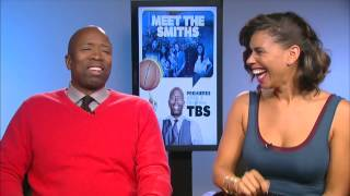 "NBA legend Kenny Smith and his wife Gwendolyn have a new reality show"" Meet the Smiths"" airing on TBS Fridays @ 9pm."