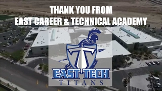 Thank you for Giving Back to the East Tech Titans!