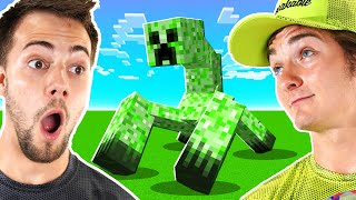 Two NOOBS Try To Play MINECRAFT! (First Time)