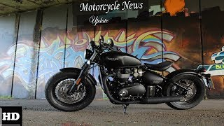 4. Hot News  !!!! 2018 Triumph Bonneville Bobber Design Overview spec & price
