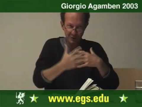 Giorgio Agamben. The State of Exception. Der Ausnahmezustand. 2003 6/7