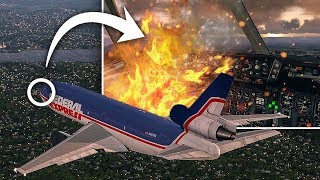 Video Fire On Board   Emergency Landing   Federal Express Flight 1406 MP3, 3GP, MP4, WEBM, AVI, FLV April 2019