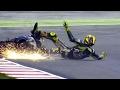 foto 21 Mei Valentino Rossi Out Di final Lap Moto GP 2017