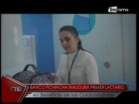 Banco Pichincha inaugura primer lactario en beneficio de sus colaboradoras