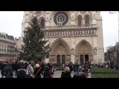 All bells ringing at Notre Dame Cathedral in Paris