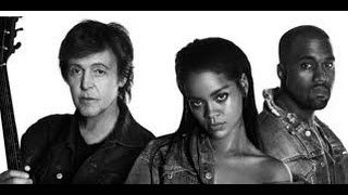 REVIEW Rihanna Four Five Seconds Ft. Kanye West & Paul McCartney Review - YouTube