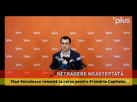 Vlad Voiculescu renunţă la cursa pentru Primăria Capitalei