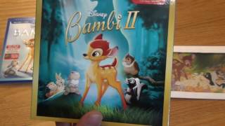 Unboxings of the newest releases of Bambi and Bambi II on Blu-Ray from Disney. These combo packs come with Blu-Ray, DVD, and Digital Copy all in one.