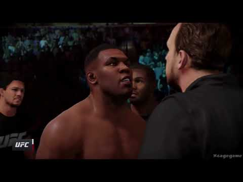 EA Sports UFC 2 - Mike Tyson Vs Frank Mir Gameplay [ HD ]