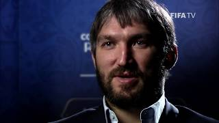 Alexander Ovechkin was named the tenth Ambassador for the 2018 FIFA World Cup.  We caught up with the ice hockey star to talk about his hopes for the tournament.