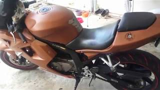 8. HYOSUNG GT250R ENGINE REBUILD & NEW CAMOUFLAGE PAINT