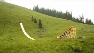 Amazing Waterslide Jump