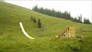 Amazing Waterslide Jump