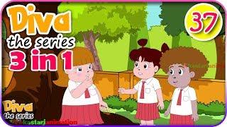 Video Seri Diva 3 in 1 | Kompilasi 3 Episode ~ Bagian 37 | Diva The Series Official MP3, 3GP, MP4, WEBM, AVI, FLV Oktober 2018