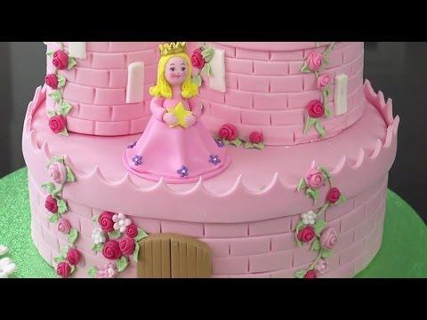 Как сделать торт принцессе
