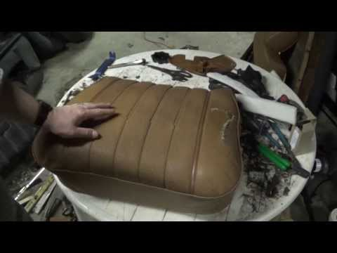 Mercedes-Benz 240D (W123) seat repair- part 4