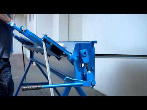 Folding Machines for sheet metal Baubras zgr3140 2017