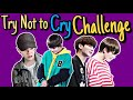 Download Lagu BTS Try Not to Cry Challenge (Extremely Sad Moments) Mp3 Free