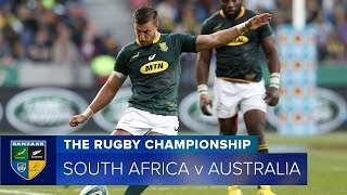 South Africa v Australia Rd.5 2018 Rugby Championship video highlights | Rugby Championship Video Hi
