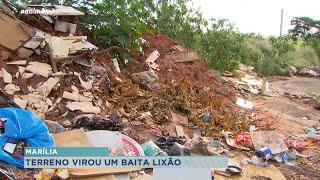 Moradores não aguentam mais conviver com lixão em Marília
