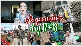 Day 17 + 18 | Matching Family PJs & Gift Wrapping is Done!