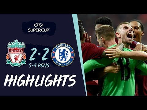 Video: Super Cup Highlights | Penalty-hero Adrian secures Reds' win in Istanbul | Liverpool vs Chelsea