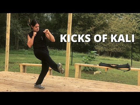 Kicking Techniques of Kali - Escrima Arnis Kicks