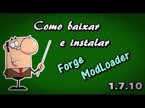 Como baixar e instalar Forge ModLoader no Minecraft 1.7.10