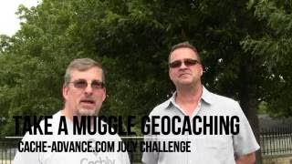 Take a Muggle Geocaching (July Challenge)