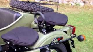 1. Ural of New England, Gear-Up 2WD in Taiga Green