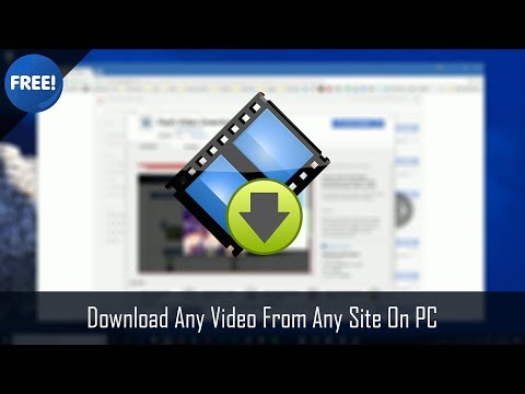 Video How to Download Any Video From Any Site On PC  (free & easy) download in MP3, 3GP, MP4, WEBM, AVI, FLV January 2017
