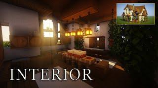 Minecraft - Realistic Interior Decoration Ideas and Designs! [Inspiration & Tips]